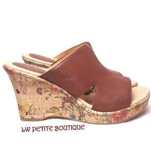Boc Cork Comfort Wedges